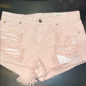 Pistols pink shorts